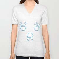 Peace Not War [No Text] Unisex V-Neck