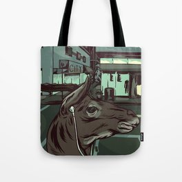 Early Morning Commute Tote Bag