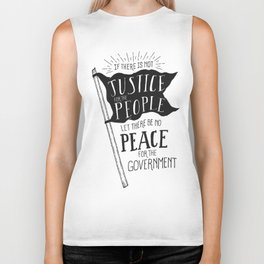 Justice for the People Biker Tank