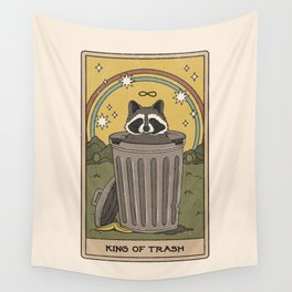King of Trash Wall Tapestry
