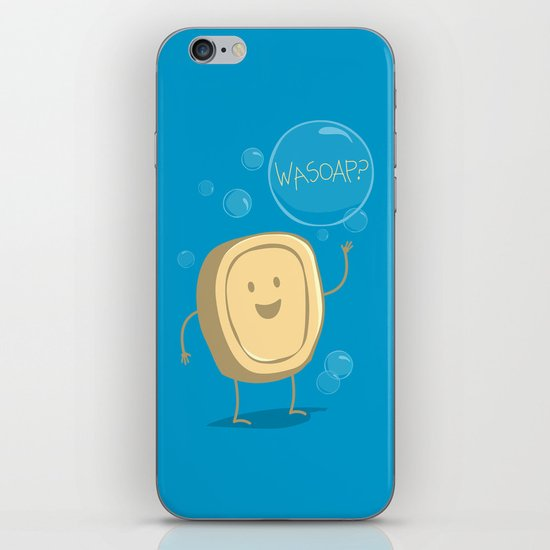 Wasoap? iPhone & iPod Skin
