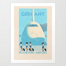 Germany - Franfurt Art Print