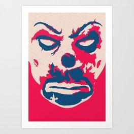 robber joker Art Print