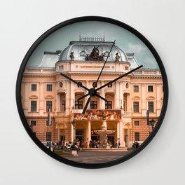 Bratislava National Theater Wall Clock