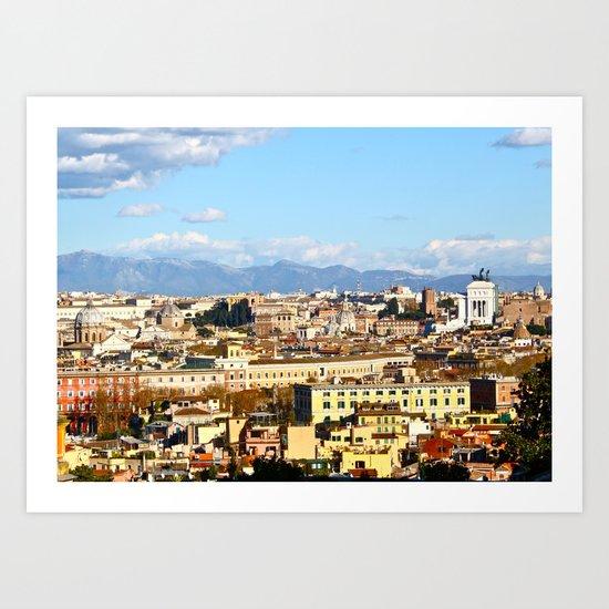 Rome: Skyline Art Print
