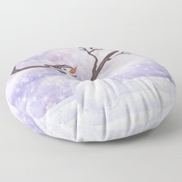 snowman joy Floor Pillow