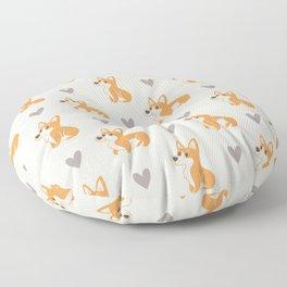 Corgi Pups Floor Pillow