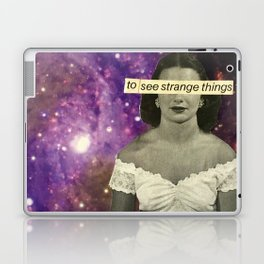To See Strange Things Laptop & iPad Skin