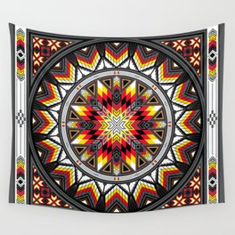 Sacred Places Red Wall Tapestry