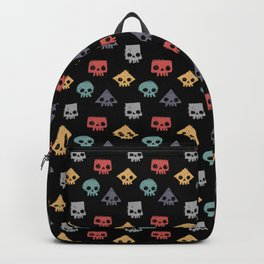 Skull Shapes Backpack