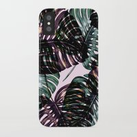 leaf iPhone & iPod Cases featuring Leaf by Burcu Korkmazyurek