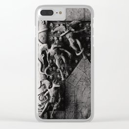Cave Canem - Wall of Skulls Clear iPhone Case