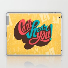 Can't Hear You Laptop & iPad Skin