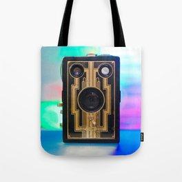 Vintage Art Deco Camera Tote Bag
