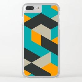 Tri V Clear iPhone Case
