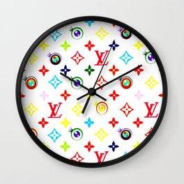 Takashi Murakami LV Collaboration Vuitton Wall Clock