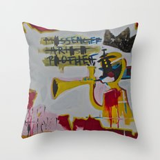 Basqui NOT Throw Pillow