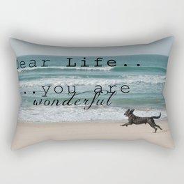Dear Life... Rectangular Pillow