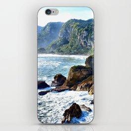 Coastal View in Punakaiki iPhone Skin