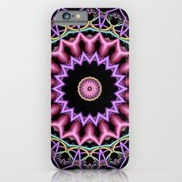 symmetry on black -02- iPhone Case