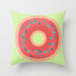 Donut Be Sad Throw Pillow