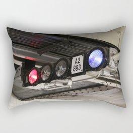 Subway Lights Rectangular Pillow
