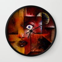 portal Wall Clocks featuring portal by sewec