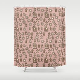 Gingerbread VI Shower Curtain