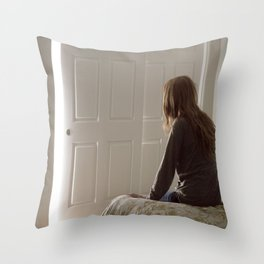 Untitled, Film Still #1 Throw Pillow