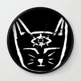 Third Eye Cat Wall Clock