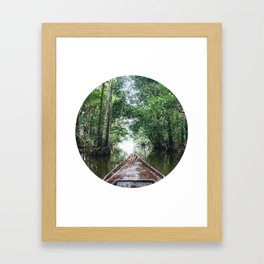 Into The Amazon Rainforest Fine Art Print Framed Art Print