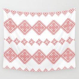 Pattern - Family Unit - Slavic symbol Wall Tapestry