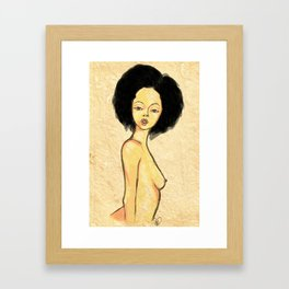 AfroIsBeauty Framed Art Print