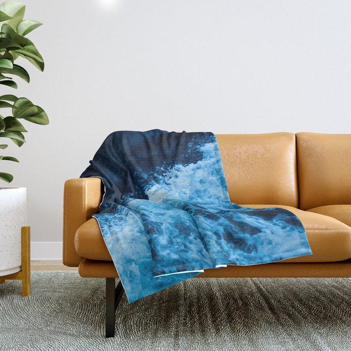 Sea 11 Throw Blanket