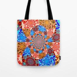 Mandala Mashup Tote Bag
