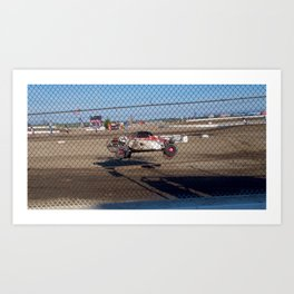 Flying Bug Art Print