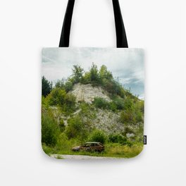 An old quarry in Kazimierz Dolny Tote Bag