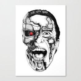 The all new Terminators. The psychopath Canvas Print