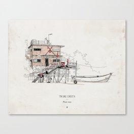 Tigre Delta: Plant Trees Canvas Print
