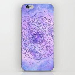 Waterolor Mandala FLower iPhone Skin