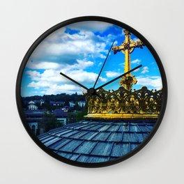 Lourdes Wall Clock