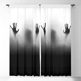 Claustrophobia Illustration Blackout Curtain