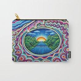 Sunrise Dragon Splash Carry-All Pouch