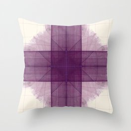 Tubular Cross Throw Pillow