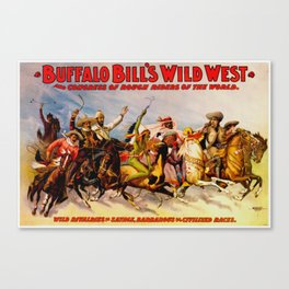 Buffalo Bill Cody - Rough Riders Canvas Print