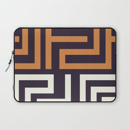 African Tribal Pattern No. 51 Laptop Sleeve