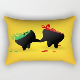 Salsas Dancing Rectangular Pillow