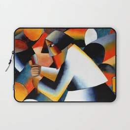 Malevich Woodcutter 1912 Artwork for Wall Art, Prints, Posters, Tshirts, Men, Women, Youth Laptop Sleeve