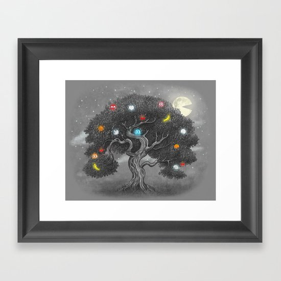 Midnight Snack  Framed Art Print