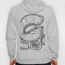 From Simplicity 2 Complexity series - Mitochondria Connections Hoody